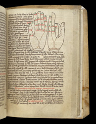 Mnemonic Computus Diagrams Of Hands f.75r